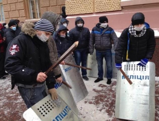 Павло Данильчук: «...хто забезпечив лад на вулицях Луцька в часи революції...»