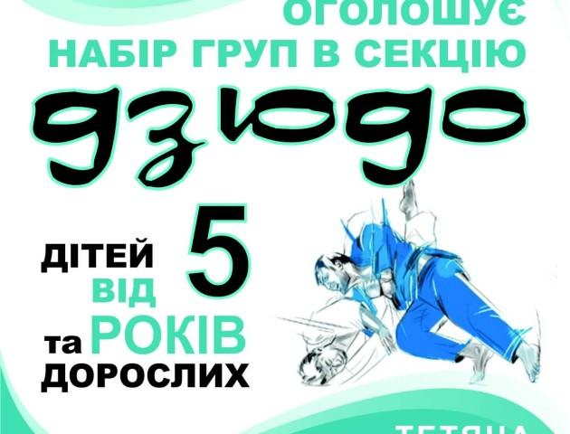 Оздоровча секція «Дзюдо» у Луцьку