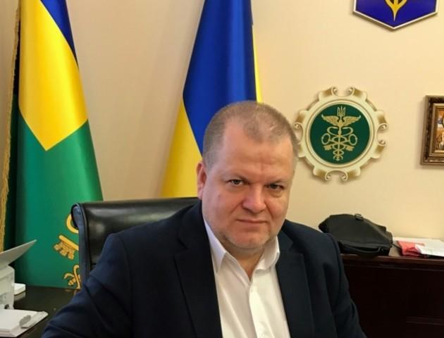 Затриманого начальника волинської митниці Віктора Кривіцького повезли до Києва