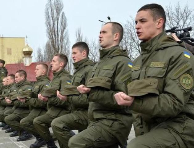 26 волинських юнаків під час позачергового призову поповнять лави Нацгвардії. ВІДЕО