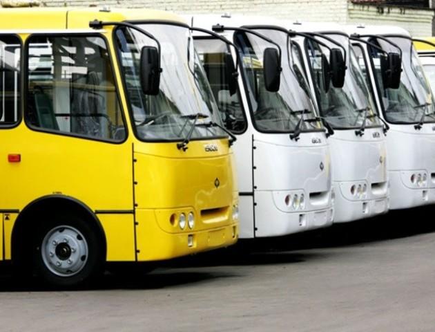 У Луцьку тимчасово змінять схеми руху автобусних маршрутів
