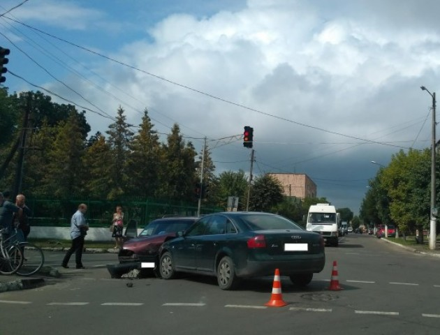 У Ковелі «Ауді» зіткнулося з автівкою «Опель»