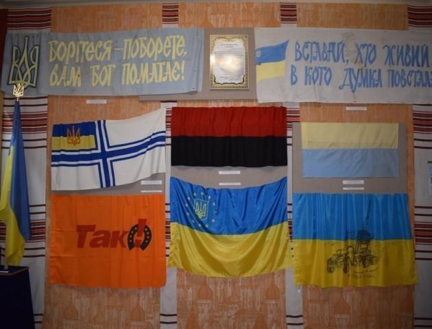 Стартувала виставка революційних стягів у Волинському краєзнавчому музеї