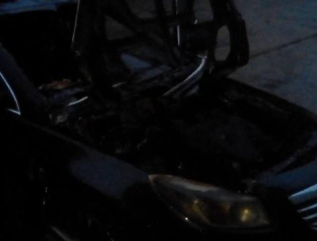 У Луцьку невідомі підпалили авто працівниці СБУ