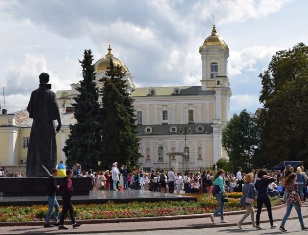 Лучани святкують день народження України