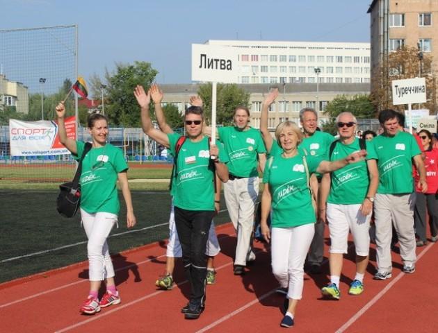 «Спорт для всіх заради здоров'я»: у Луцьку стартував міжнародний фестиваль. ФОТОРЕПОРТАЖ
