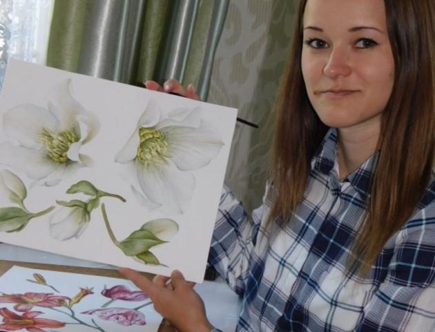 26-річна дівчина з Волині стала всесвітньо відомою художницею