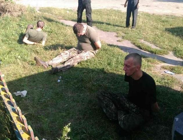 Подробиці затримання зловмисників, які побили та вивезли в ліс волинянина