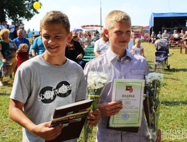 Нагородили юних волинян, які голіруч спіймали злочинця