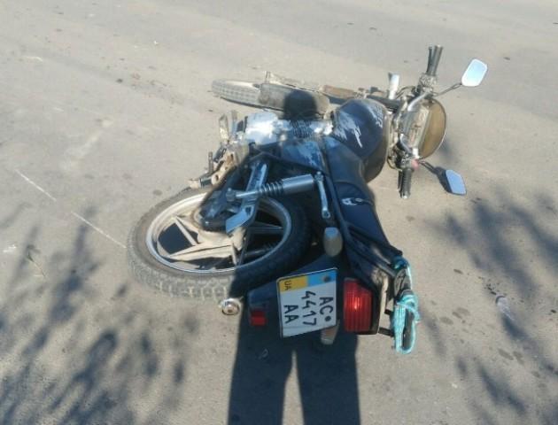 На Волині  два мотоциклісти влаштували ДТП
