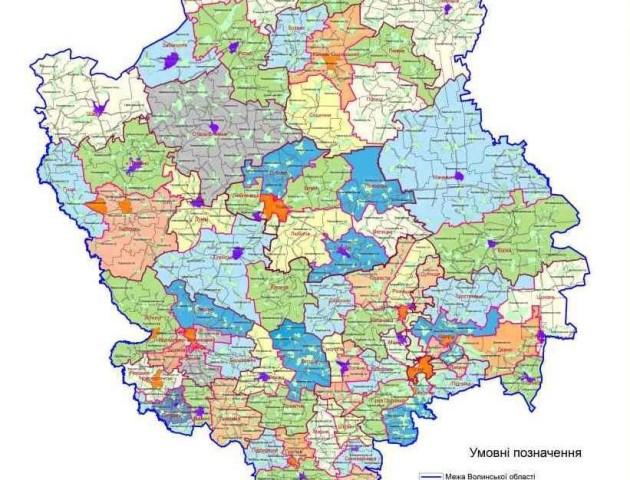 Вноситимуться зміни до Перспективного плану формування територій Волині