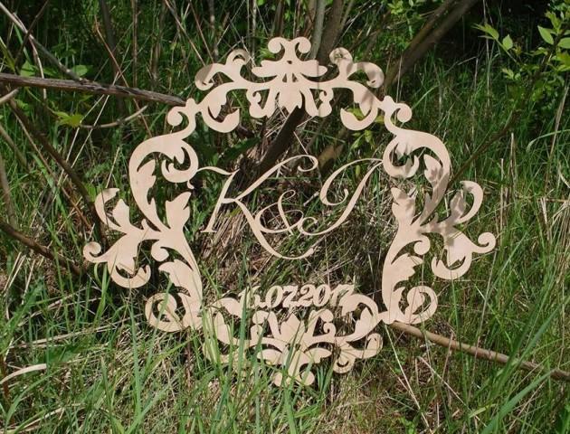 Весільний декор, об'ємні слова, рамочки, коробочки з дерева