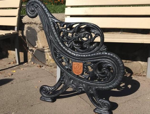 В Центральному парку Луцька з'являться лавки з унікальним дизайном