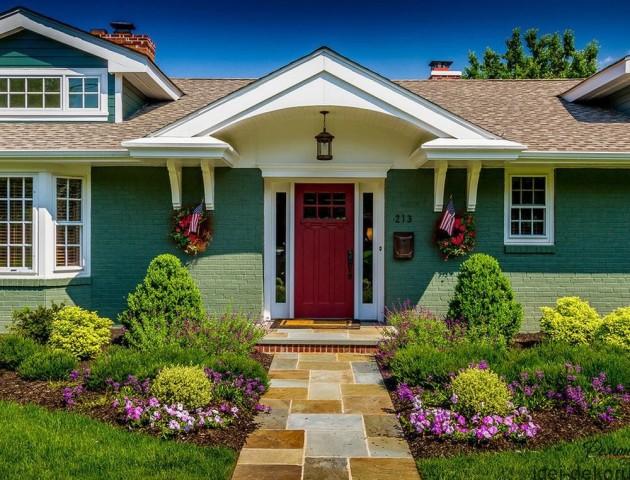 40 ідей облаштування входу у ваш дім. ФОТО