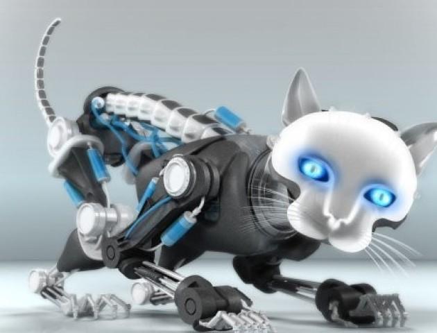 Вчені розробили кішку-робота, яка допомагатиме літнім людям