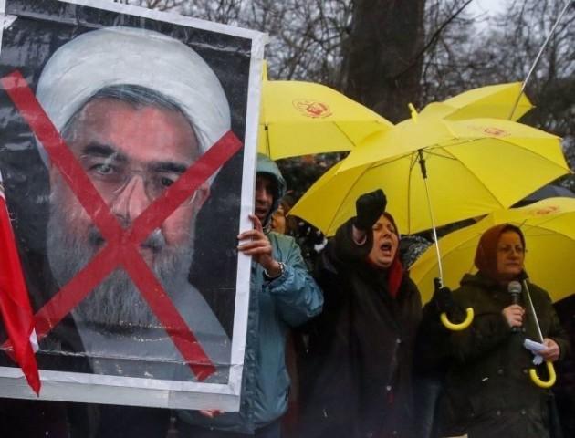 В Ірані продовжуються антиурядові протести.  ВІДЕО