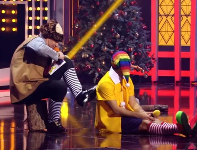«Стругати такого сина не буду», - новорічний «Квартал» показав гомофобну сценку