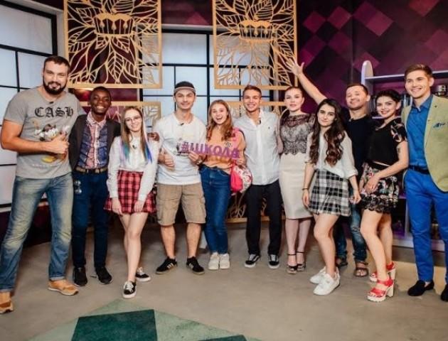 Лучанин готуватиме разом з акторами серіалу «Школа»
