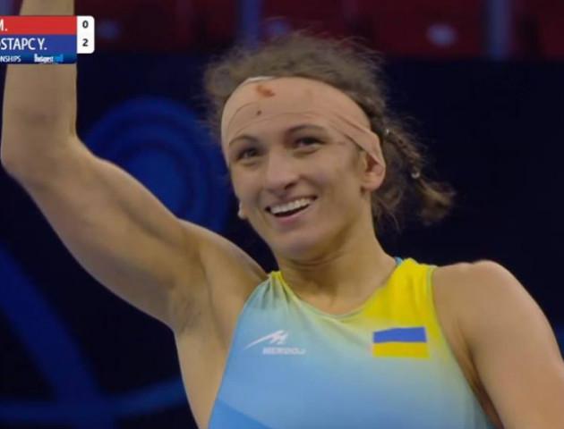 Волинська спортсменка здобула «бронзу» чемпіонату світу з вільної боротьби