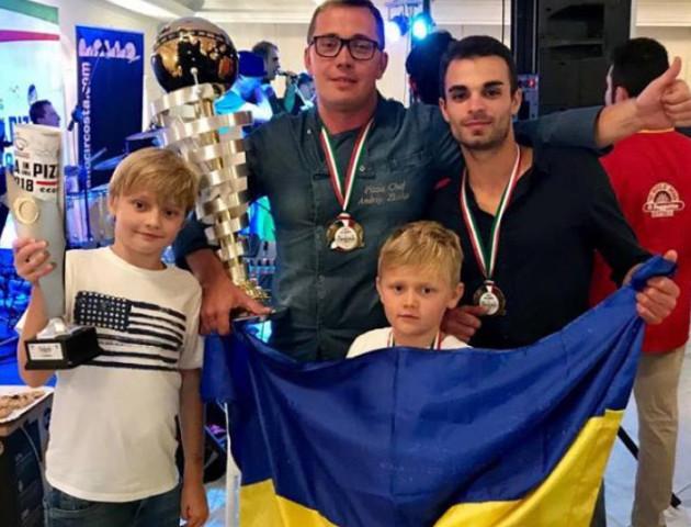 Відомий італійський піцайоло з Волині виборов для України друге місце. ФОТО