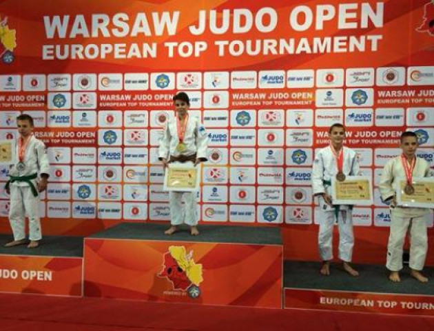 Юний дзюдоїст з Волині на міжнародному турніру у Варшаві виборов «бронзу»