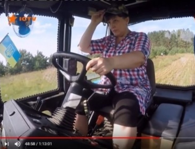 Волинянка хоче через відому телепрограму отримати трактор. ВІДЕО