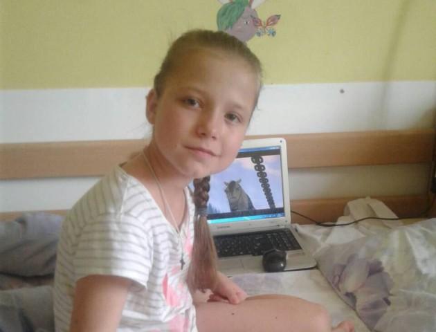 Маленька дівчинка з Волині потребує допомоги у боротьбі зі страшною хворобою