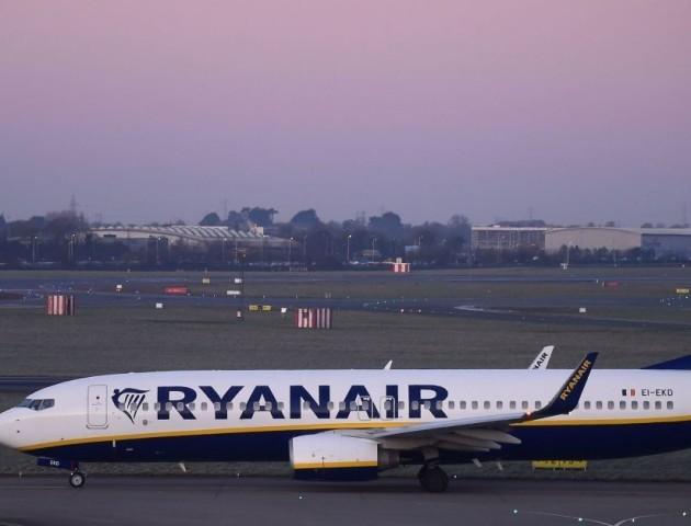 Назвали нові авіарейси Ryanair з України