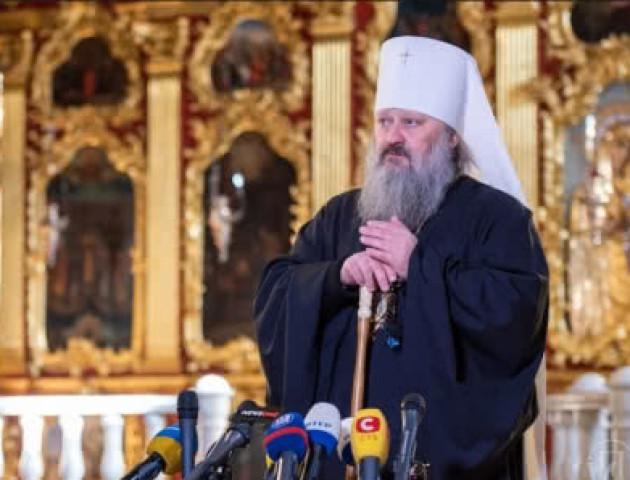 «Сьогодні діється на мене тиск з усіх сторін», - митрополит Павел прокоментував обшуки СБУ. ВІДЕО