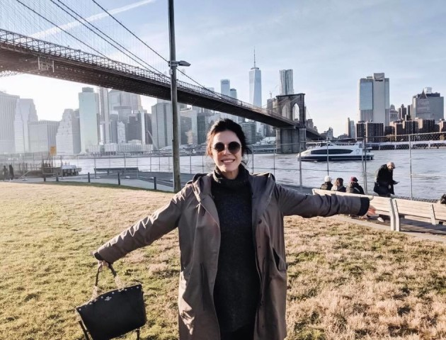 Відома візажистка з Луцька показала, як відпочила у Нью-Йорку. ФОТО