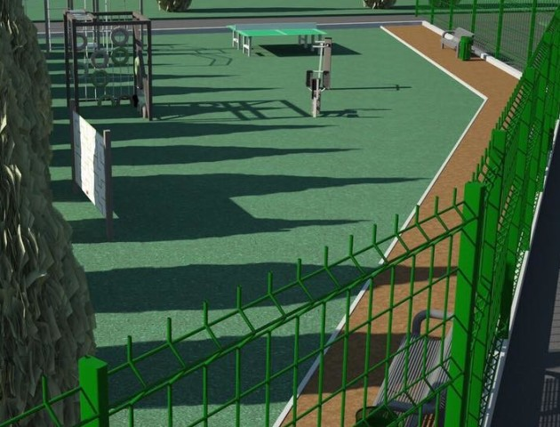 У Старому Луцьку пропонують облаштувати зону для відпочинку та заняття спортом