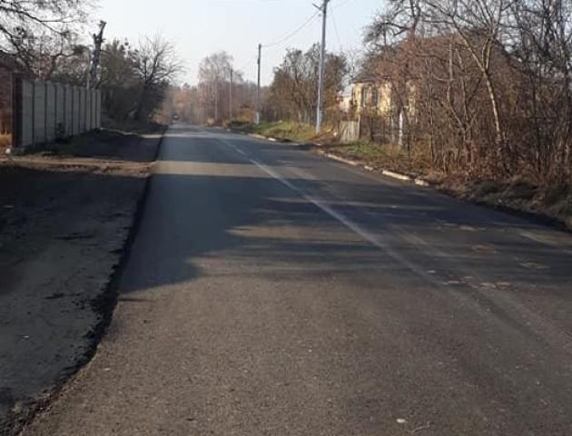 Як відремонтували дорогу в селі поблизу Луцька. ФОТО