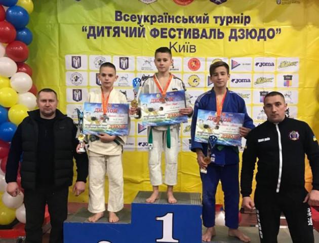 Юні дзюдоїсти з Волині здобули перемоги на всеукраїнському турнірі