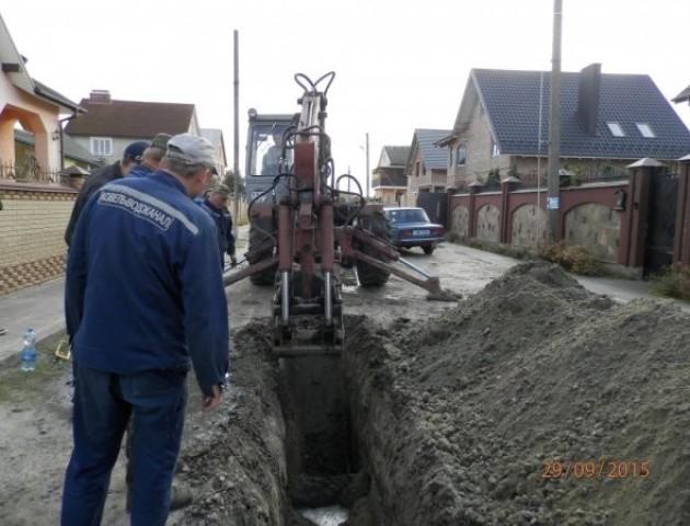 У Ковелі побільшало мереж централізованого  водопостачання та водовідведення