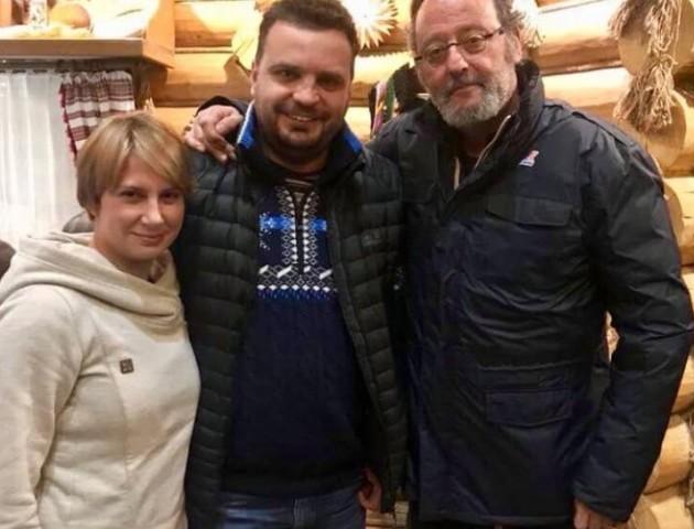 Жан Рено приїхав в Карпати зніматися в українському фільмі