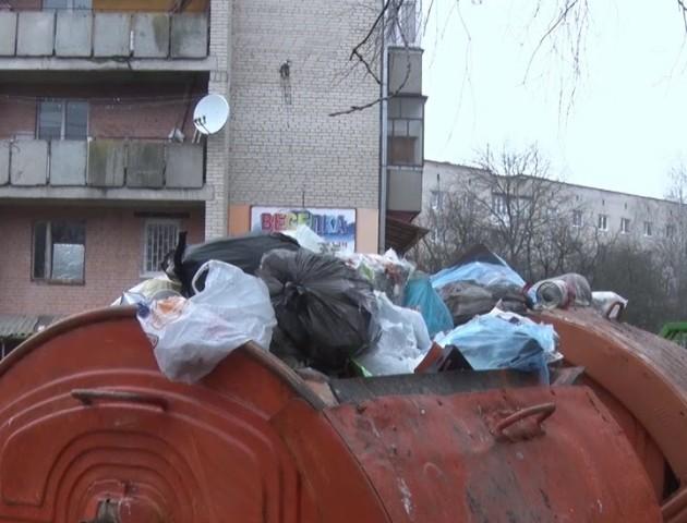 У Луцьку – нові смітники за гроші німців. ВІДЕО
