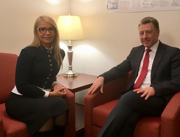 Юлія Тимошенко у США зустрілася із Куртом Волкером. ФОТО