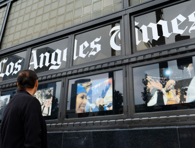 Los Angeles Times та низку інших газет продали за $500 млн