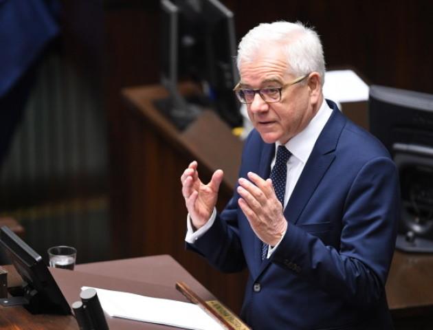 Голова МЗС Польщі: Незалежна Україна необхідна для порядку і безпеки Європи