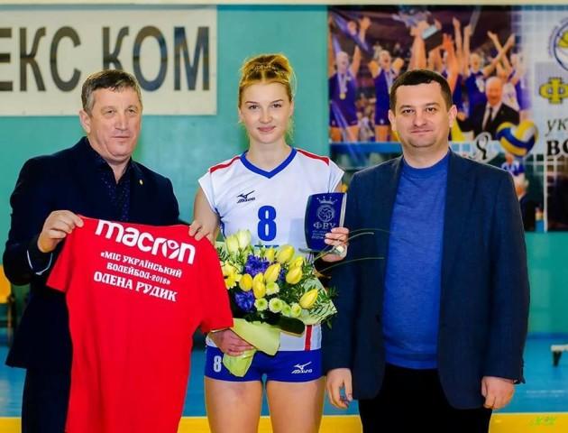 Волинська волейболістка здобула звання «Міс український волейбол - 2018»