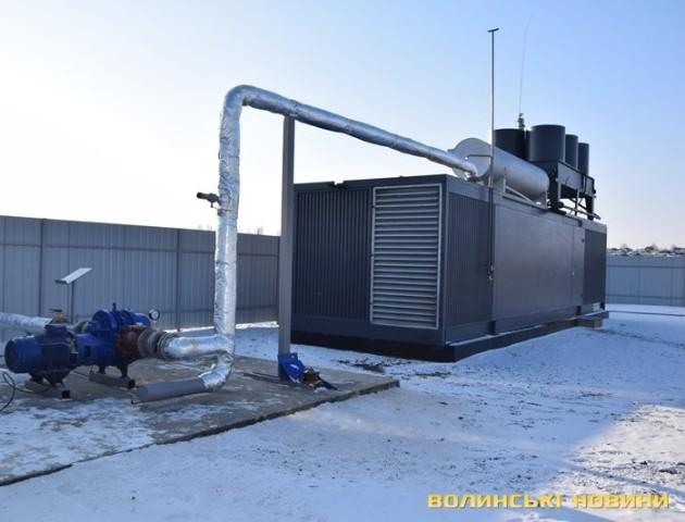 У Брищі обговорили роботу сучасної установки, яка переробляє біогаз в електрику