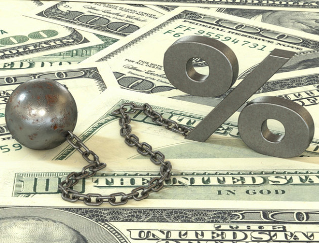 Держборг України в березні збільшився у доларовому вираженні на 0,79% - до $77,37 млрд