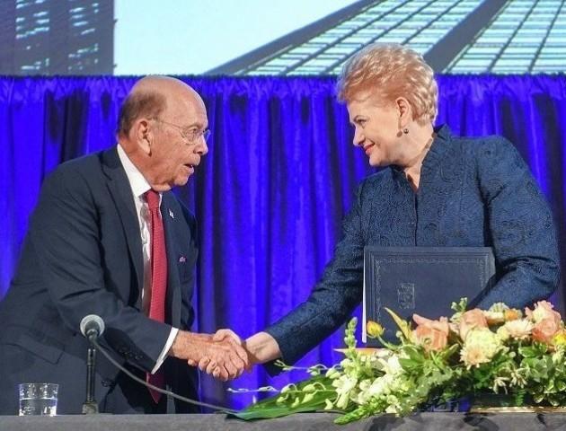 Литва допоможе постачати в Європу американський газ – Грібаускайте