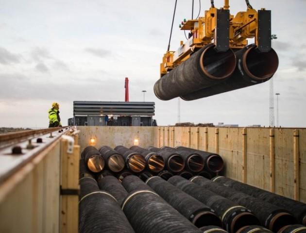 «Газпром» заявив про завершення будівництва першої нитки «Турецького потоку»