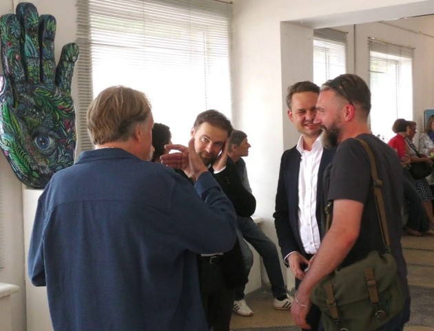Від абстракції до реалізму: у Луцьку відкрили виставку Вроцлавських художників. ВІДЕО