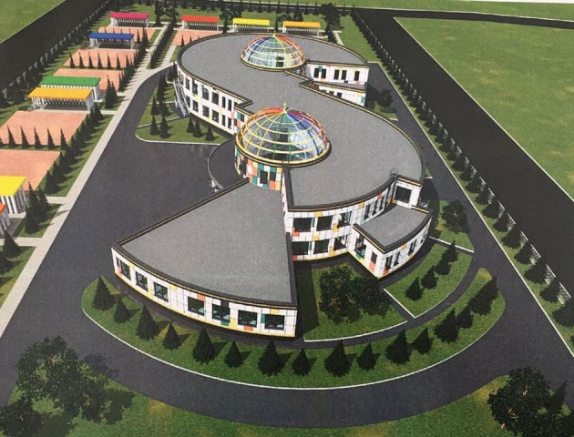 Показали, як виглядатиме новий сучасний дитячий садок у селі поблизу Луцька