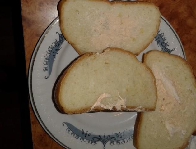 Лучанка придбала хліб з картопляною паличкою. ФОТО