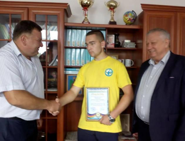 Волинянин виграв Чемпіонат світу з гирьового спорту серед юніорів