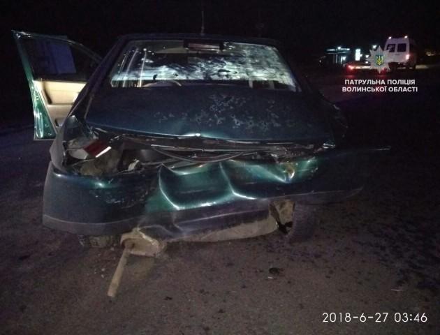 У Луцьку п'яний водій втік з місця ДТП. ФОТО