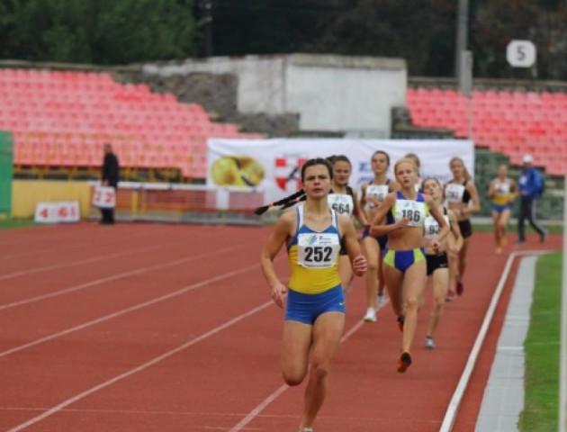 Волинська спортсменка стала кращою на чемпіонаті України з легкої атлетики